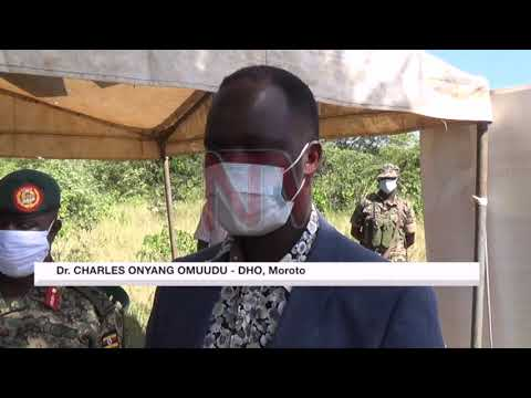 Karamoja Health teams ask for rapid testing kits