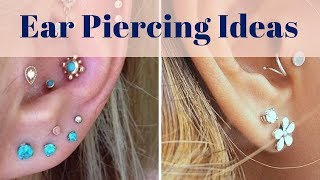 Ear Piercing Ideas - 200+ Earring Design Ideas For Men And Women