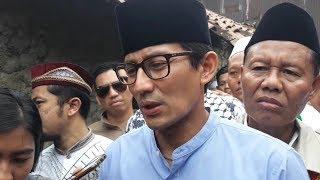 Demi Jaga Ukhuwah Islamiyah dan Ukhuwah Wathaniyah, Sandiaga Uno: Kita Harus Turunkan Tensi Politik