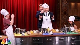 Tonight Show MasterChef Junior Cook-Off with Gordon Ramsay