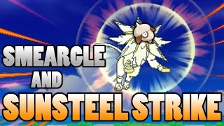 Smeargle  - (Pokémon) - What Does Smeargle Look Like Using Solgaleo's Sunsteel Strike In Pokemon Sun and Moon?