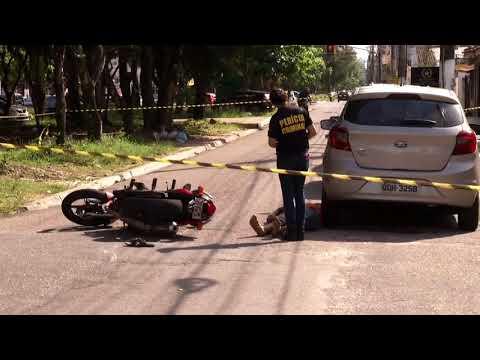 Duplo homicídio na travessa Barão do Triunfo
