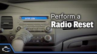 Radio Reset – 2006-2011 1.8L Honda Civic