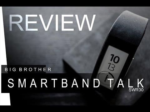 Sony Smartband Talk - SWR30 - REVIEW