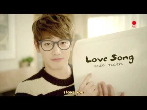 Eric Nam - Love Song「Eng Sub + Romanization + Hangul」