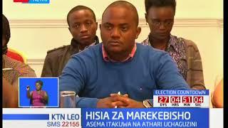 Francis Atwoli akosoa hatua ya wabunge kufanya marekebisho kuhusu sheria za uchaguzi