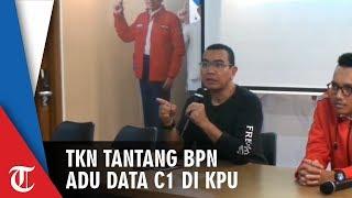 TKN Jokowi Tantang BPN Prabowo Adu Data C1 di KPU