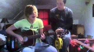 """Ani DiFranco's """"shy"""" covered by Shiloh Hawkins accompanied by Jack Hughes"""