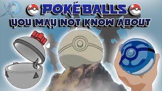 Pokéballs That Aren't in the Pokémon Video Games