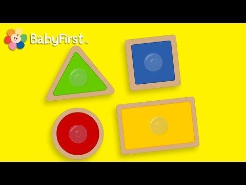 BabyFirstTV: Formas y Tamaños: Triángulo, Círculo, Cuadrado, Rectángulo |