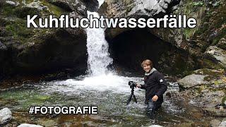 So fotografiere ich Wasserfälle - ohne zu Baden?