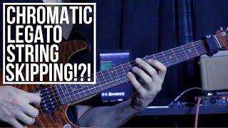 Chromatic Legato String Skipping?!? | Tom Quayle Inspired