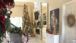 12 Days Of Christmas | Day 5 | Foyer Tour & Decorate With Me