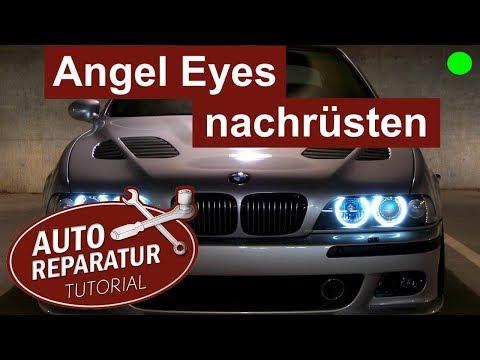 ANGEL EYES nachrüsten | BMW E39 Facelift Scheinwerfer einbauen | DIY Tutorial