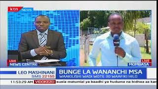 Bunge la wananchi Mombasa: Mchakato wa NASA Mombasa
