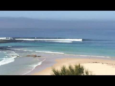 Good surf at Green Island