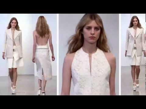 Calvin Klein Collection Resort 2013 Runway Show - презентация одежды Calvin Klein