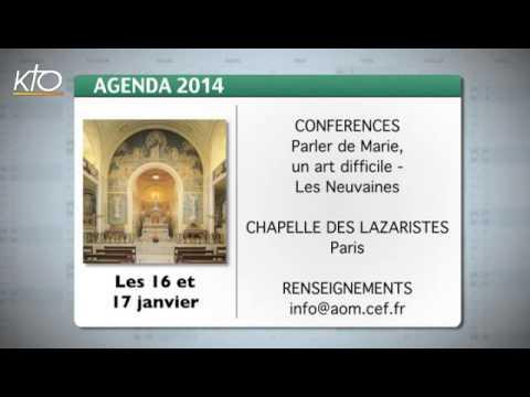 Agenda du 10 janvier 2014