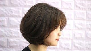 Graduation Bob Hair Cut |  CẮT TỰ VÀO NẾP  DỄ CHĂM SÓC