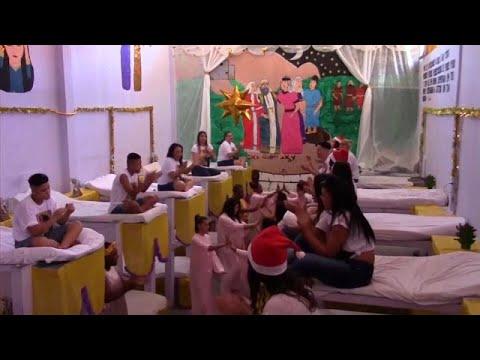 العرب اليوم - شاهد: أجواء احتفالية في سجن برازيلي بمناسبة عيد الميلاد