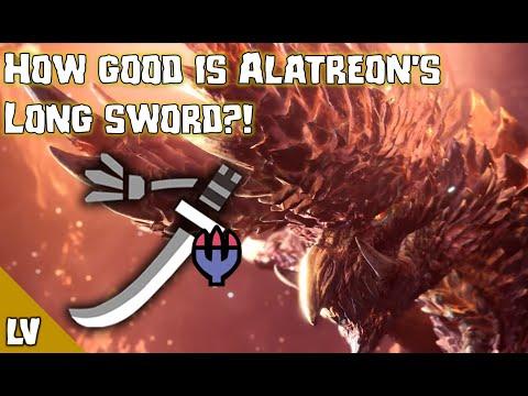 Kjarr Decay Or Alatreon Longsword Monster Hunter World