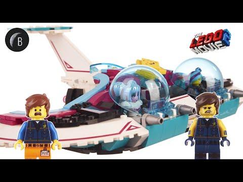 Vidéo LEGO The LEGO Movie 70849 : Le chasseur d'étoile de Wyld-Mayhem