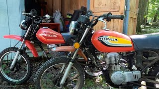 Honda Dirt Bike | Motorcycle Shed Find | Will It Run For A First Ride ?
