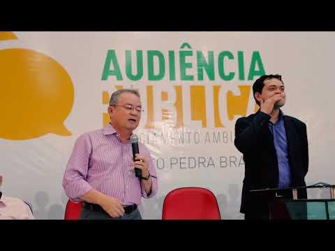 Zequinha Marinho participa de audiência pública em Água Azul do Norte