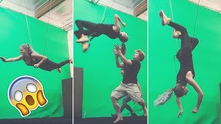 CRAZY MOVIE STUNTS!! | Real Life Superhero Training with Action Factory
