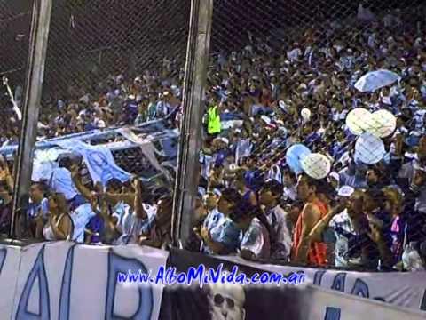 """Hinchada de Gimnasia y Tiro vs. boca juniors  03/02/2014"" Barra: La Dale Albo • Club: Gimnasia y Tiro"