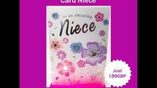 Happy Birthday Card Niece (2019)