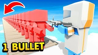 LORD OF FUTURE! How Many Can He Kill With 1 Bullet? (Ancient Warfare 3 Funny Gameplay)