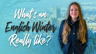 How to survive winter in England | Canadian living in the UK