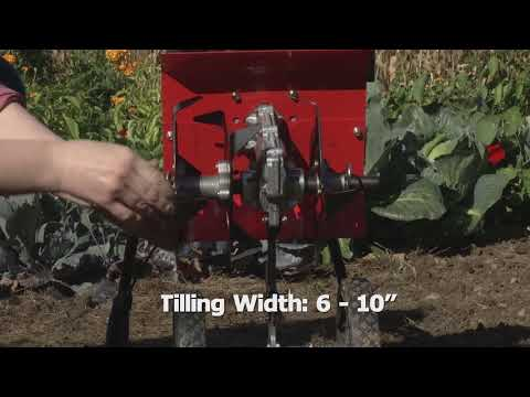 Product Video, PILOT 2 Cycle Mini Tiller Cultivator