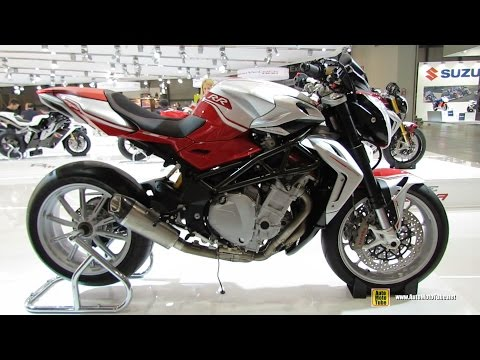 2015 MV Agusta Brutale 1090RR - Walkaround - 2014 EICMA Milan Motorcycle Exhibition