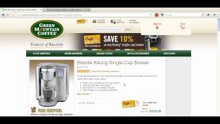 15% Off Keurig Coupon: Best for Keurig Coffee Makers and K-Cups