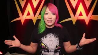 WWE誰もがヒーローアスカからのメッセージ