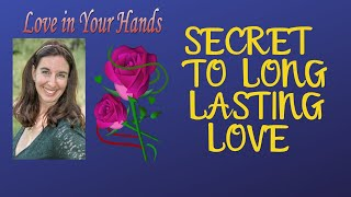 Youtube with Love in Your Hands Secret to Long-lasting Love sharing on Palm Reading Life Span Books For Entrepreneurs