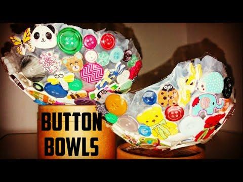 DIY Button Bowls for kids