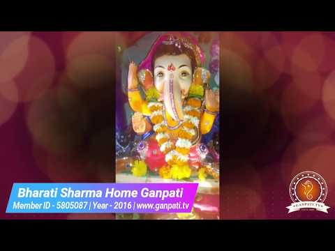 Bharati Sharma Home Ganpati Decoration Video