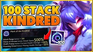 500% Attack speed Broke the game (World Record) - BunnyFuFuu | League of Legends