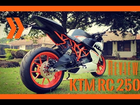 REVIEW KTM RC 250 indonesia 2016