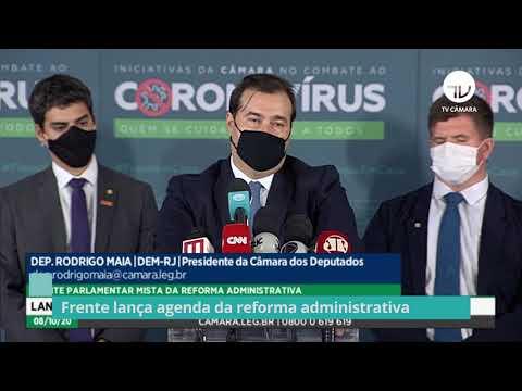 Frente lança agenda da reforma administrativa – 08/10/20