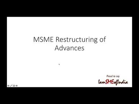 MSME Loan Restructuring - Last Date 31st March 2021 ... Think, consult your Friendly CA and Act fast