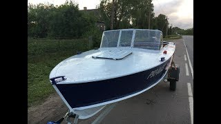 Моторные лодка прогресс