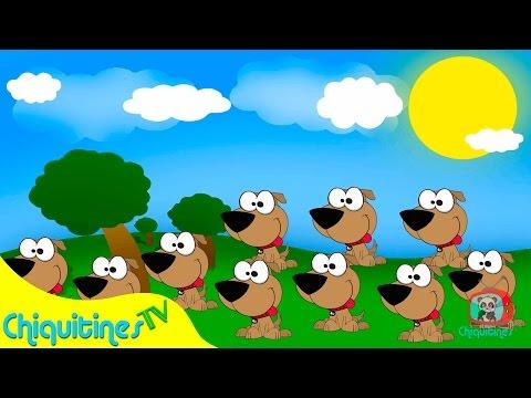 Yo tenia 10 perritos ♫ Canciones Infantiles ♫ Español