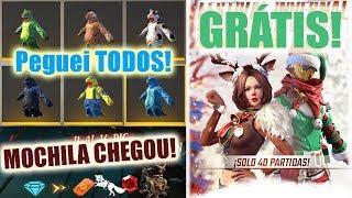 Nova Incubadora dos DINOS, Mochila dos piratas chegando, Skins de Natal de Graça e MAIS