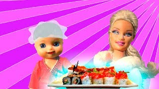 Я покрасила волосы и суши на завтрак - I dyed my hair and sushi for breakfast