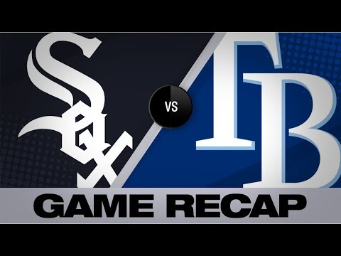 d'Arnaud's grand slam leads Rays to victory | White Sox-Rays Game Highlights 7/21/19
