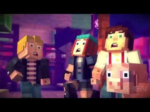 meet the cast minecraft story mode